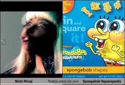 celeb,funny,Music,nicki minaj,SpongeBob SquarePants,TLL