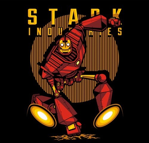 iron giant,iron man,Nerd Nightly News
