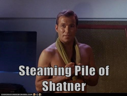 Shatnerday,William Shatner,Captain Kirk,steaming,hot,shirtless