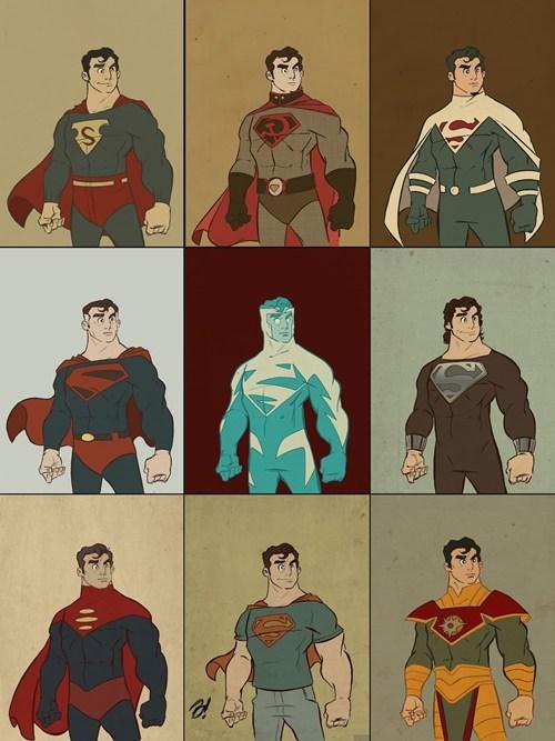 costume fashion superman - 6592438784