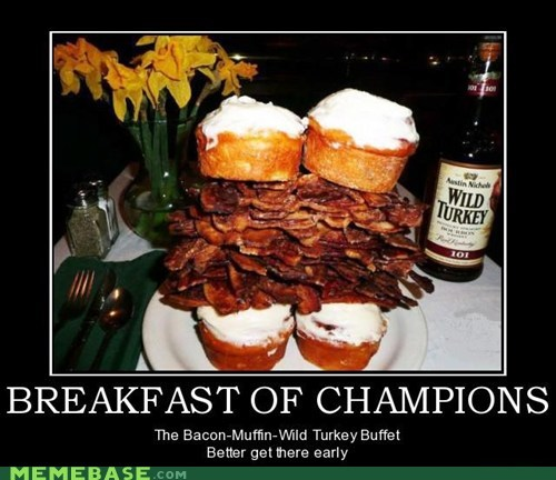 buffet Champion muffin wild turkey