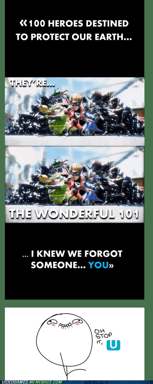 heroes,Project P-100,stop it U,wii U