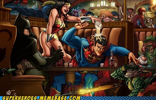ant man batman DC Party superman wonder woman - 6592512768