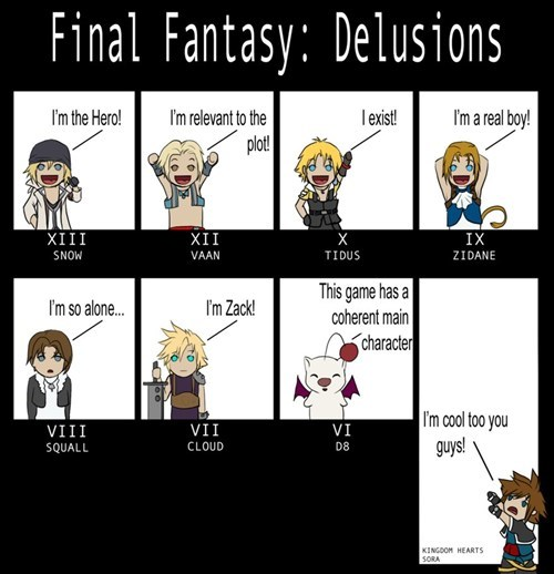 delusions final fantasy I want to be part of your world Sad - 6592514304
