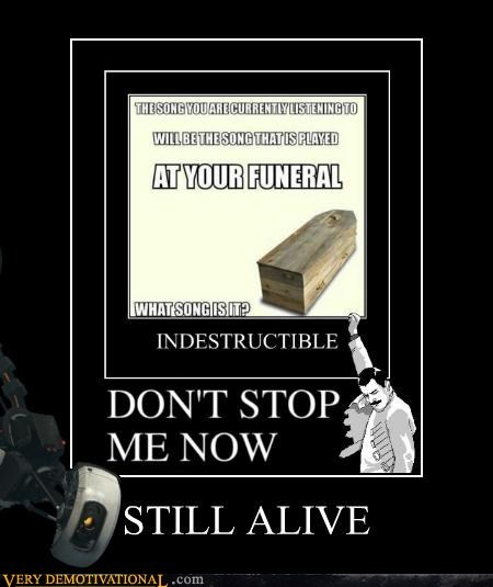 funeral,Music,Portal,still alive