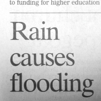 flooding genius headline news rain
