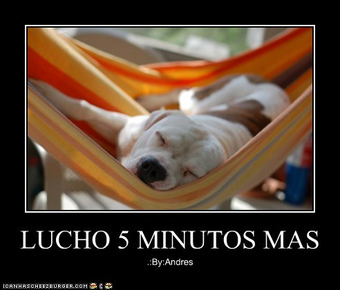 LUCHO 5 MINUTOS MAS .:By:Andres