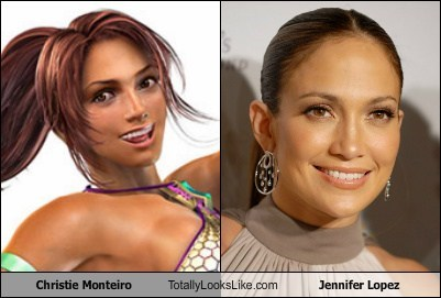 Christie Monteiro Totally Looks Like Jennifer Lopez