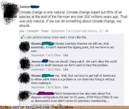 climate change facebook pluto - 6592912384