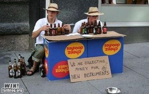 busking Music sign street performer - 6592992000