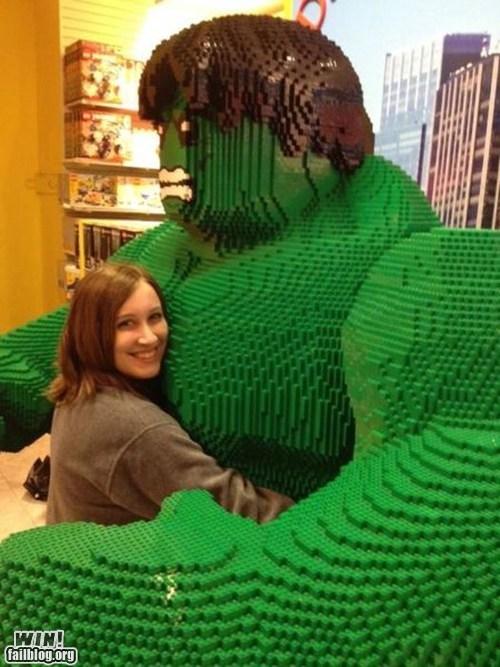 design hugs hulk lego marvel nerdgasm super heroes - 6592995584