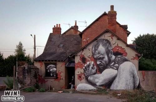 art,graffiti,hacked irl,illusion,Street Art