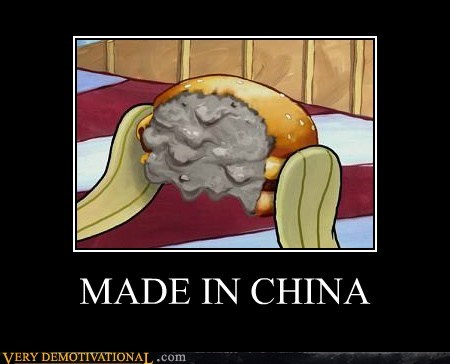 burger,China,SpongeBob SquarePants