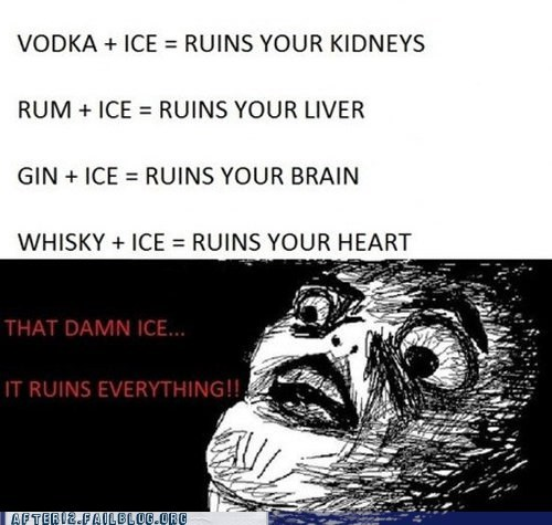 alcohol,brain,drinking,heart,ice,liver,not healthy