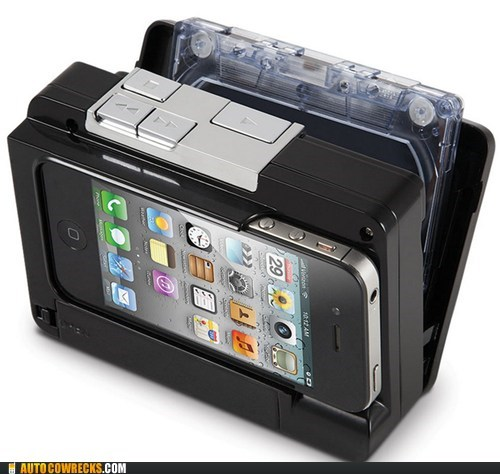 cassette player,hammacher,iphone,Recorder