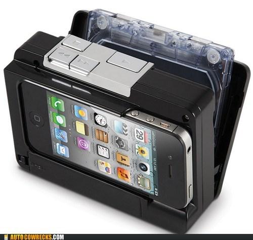 cassette player hammacher iphone Recorder - 6593679872