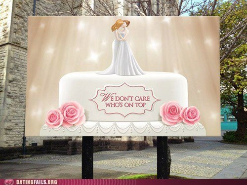 lesbians the bottom wedding cakes whos-on-top - 6593850624