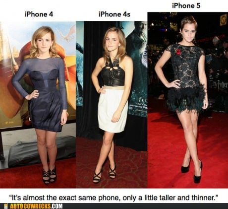 emma watson,iphone 5,new iphone,taller,thinner