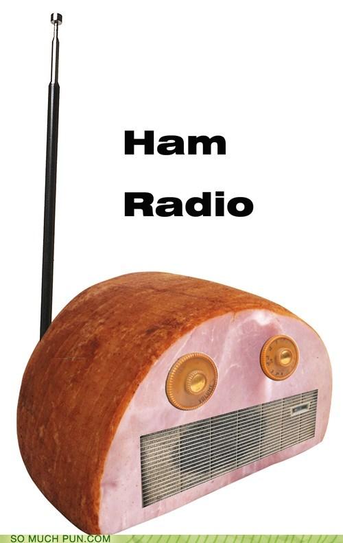 double meaning ham ham radio literalism radio - 6594098944