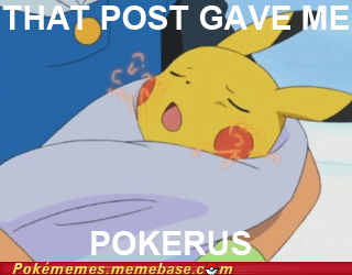 pikachu pokerus so lucky that post gave me cancer - 6594102784