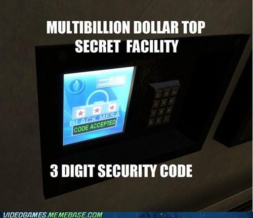 black mesa secret security code shhhh - 6594211840