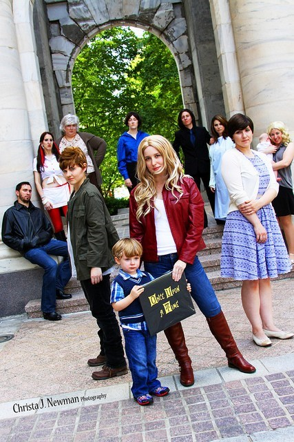 ABC cosplay once upon a time TV