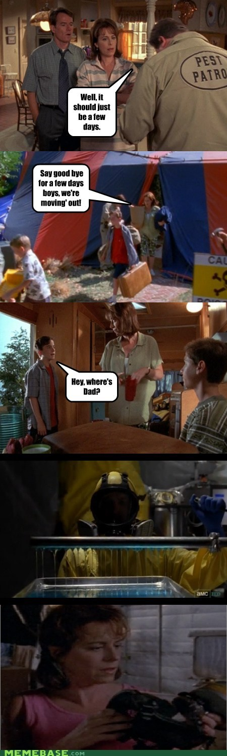 breaking bad malcom in the middle TV walter - 6594455808