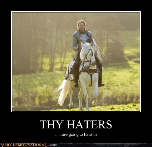 awesome gonna hate haters horse