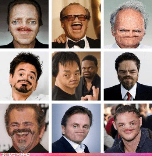 actor benecio del toro celeb chris tucker christopher walken Clint Eastwood funny jack nicholson Jackie Chan mel gibson robert downey jr tim roth tom hardy - 6594558464
