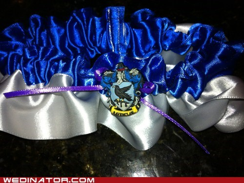 blue Garter Harry Potter house ravenclaw