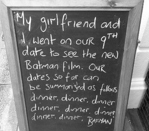 9th date,Adam West,batman,date