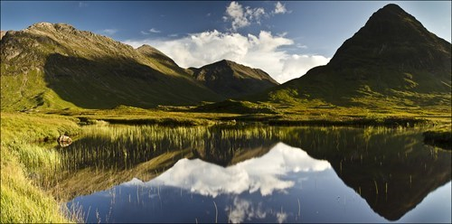 landscape mother nature ftw reflecting pool reflection scotland - 6594930944