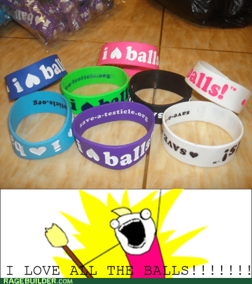 all the things balls bracelets