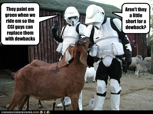 scout troopers goat short cgi replace star wars