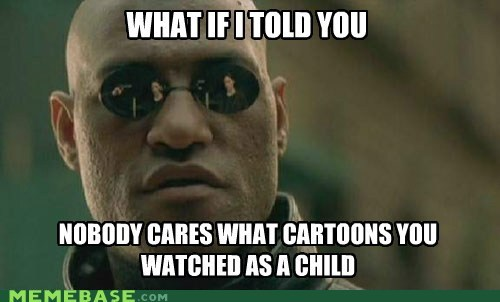 cartoons,child,enough,matrix morpheus