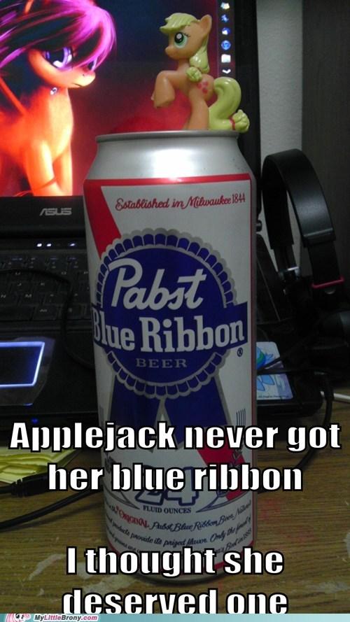 applejack blue ribbon IRL pbr - 6595483648