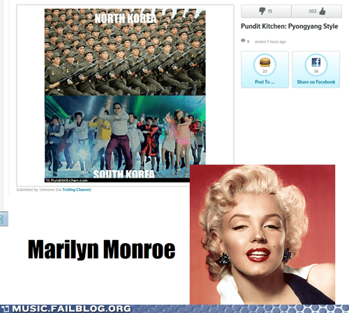 billy joel,gangnam style,korea,marilyn monroe,psy,we-didnt-start-the-fire