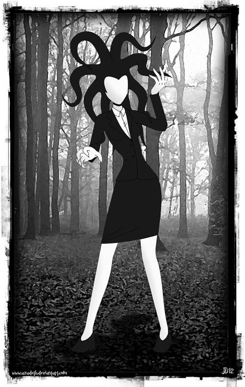 Fan Art rule 63 slenderman - 6595599360