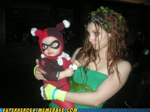 cosplay,cute,Harley Quinn,poison ivy