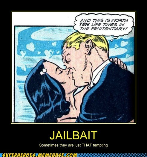 bad idea jail bait weird comics - 6595784704