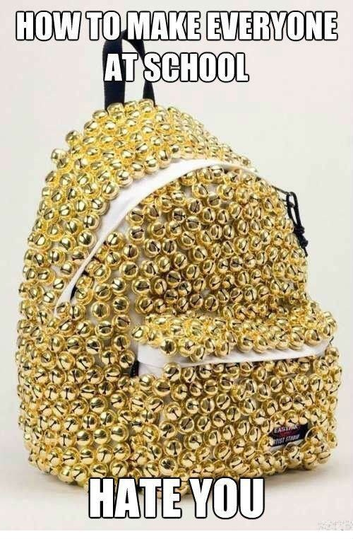 backpack,bells,school