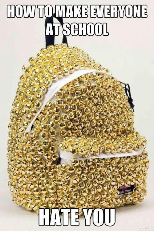 backpack bells school - 6596040704