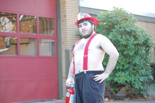 fireman shirtless - 6596068352