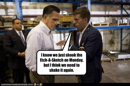 advisors again campaign Etch A Sketch Mitt Romney reboot - 6596093184