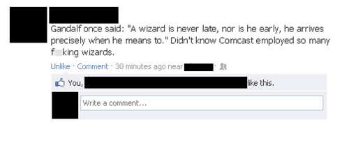 comcast,gandalf,Lord of the Rings,wifi