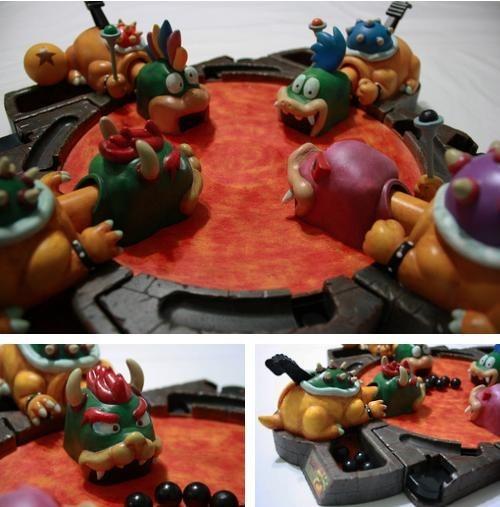 bowser hungry hungry hippo koopas mario - 6596126464