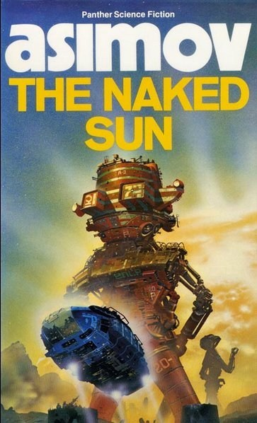 book covers cover art excited isaac asimov phallic robot rocket science fiction wtf