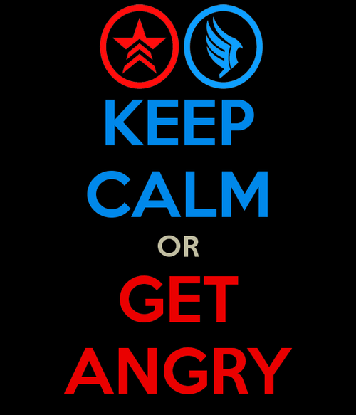 keep calm mass effect meme paragon renegade - 6596443392
