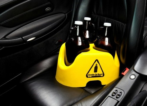 beer on board buckled up growlers - 6596517376