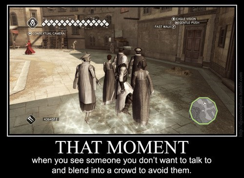 assassins creed Awkward blending crowds - 6596679168